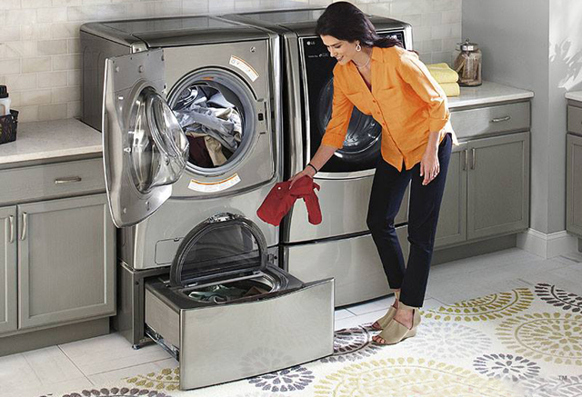 Lancement du lg twinwash le lave linge r volutionnaire - Demenager une machine a laver ...