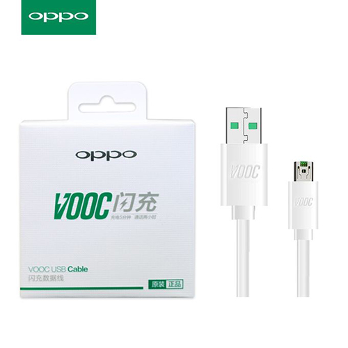 Chargeurs Oppo Chargeur Secteur USB Fast Charger Vooc Blanc