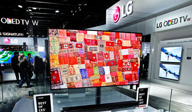 CES 2017: LG lauréat du prix Best of the best
