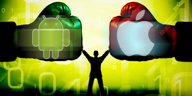 Le grand duel : Android VS iOS