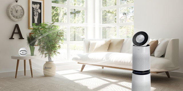 LG met au point des solution de purification d'air intelligentes