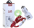 Chargeurs LDNIO CAR CHARGER