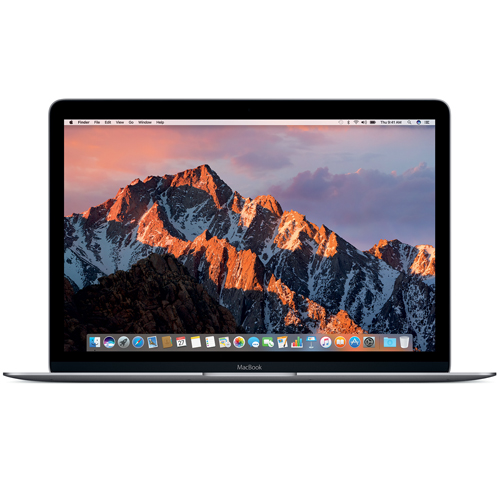Ordinateurs Portables Apple MacBook 12 pouces Dual-Core Intel Core M3, SSD 256G