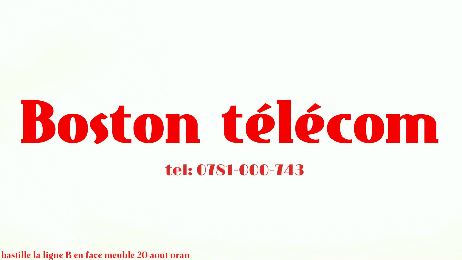 Boston telecom Algérie