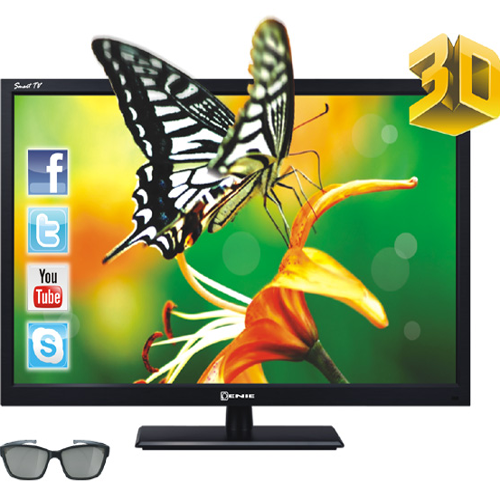 T�l�viseur LED ENIE SMART-TV-3D ELES42-22
