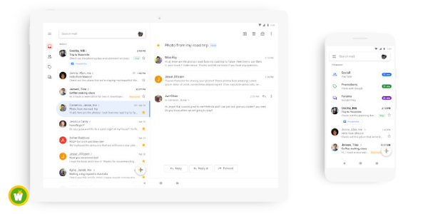 Gmail : la nouvelle version disponible sur iOS et Android